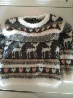 Adorable needed girl sweater