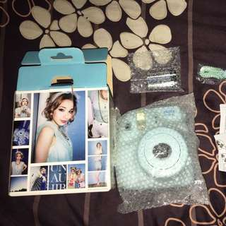 NEW FUJIFILM INSTAX MINI 8 BLUE