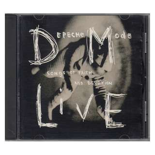 Depeche Mode: <Songs of Faith and Devotion Live> 1993 CD
