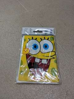 Spongebob Passport Cover