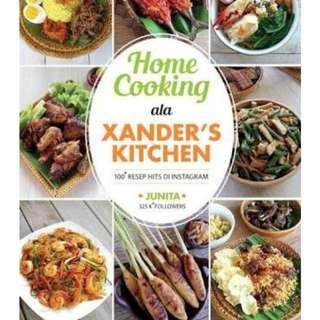 Xander kitchen buku resep anti gagal! Mega best seller