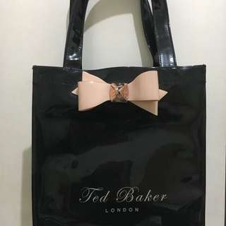 TED BAKER Lilcon Small Bow Shopper Icon Bag