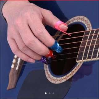 Thumb Finger Nail protective pick (4pcs)