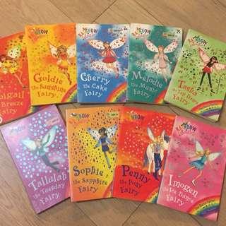 Rainbow Magic Fairy Series Children's Books Storybooks 兒童英文書圖書 故事書 彩虹魔法仙子系列