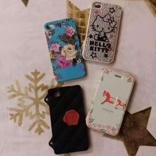 Iphone 4 phone case × 4