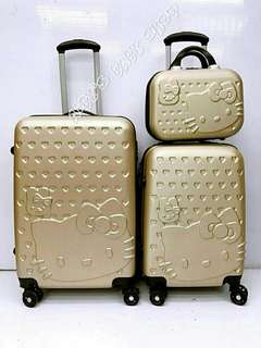 Grade B luggage 3 in 1