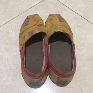 Wakai Shoes Slip On Original Size 38 Fit to Size 39