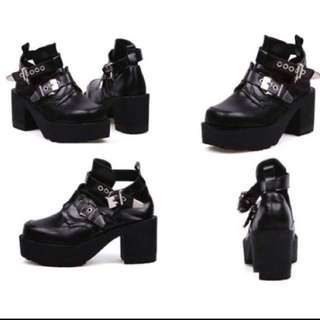 ✨[INSTOCK] Jeffrey Campbell inspired Coltrane Buckle Boots
