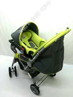 My dear 2 in 1 baby stroller with baby carrier