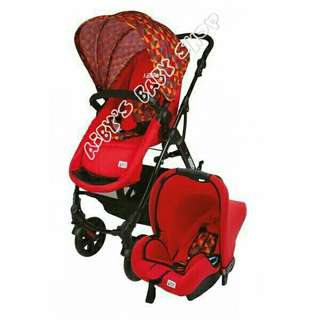 GL500 vetra stroller with carseat