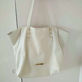 Juicy Couture white tote bag