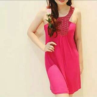 DRESS Arithalia PARTY elegant magenta