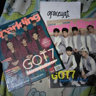 Sparkling (GOT7) with Plastic Cover