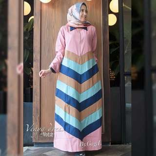 MF - 0218 - Dress Busana Muslim Venya Vol2