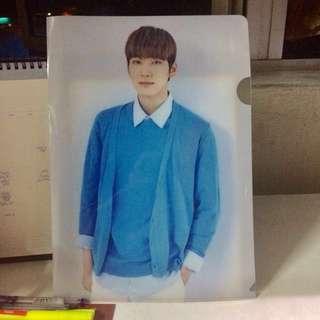 Wonwoo 2nd Carat Gen Clear File