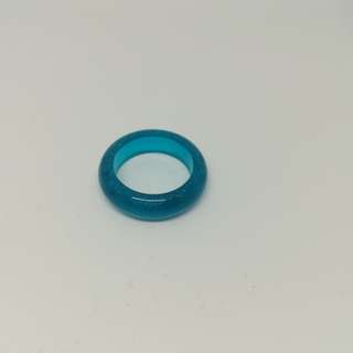 Blue ring size 17mm