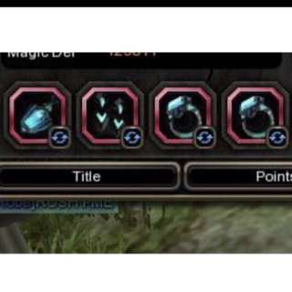Dragon nest items