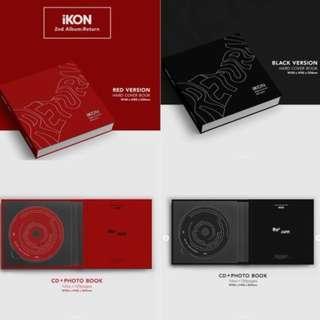 [Free Postage] IKON Return Album