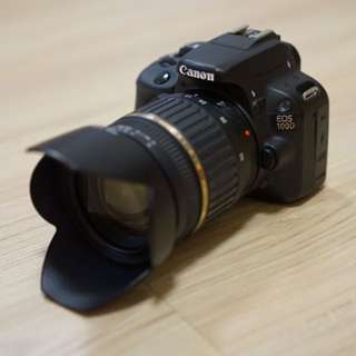 Canon 100D with tamron 17-50 f2.8