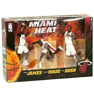 Limited Edition Miami Heat 3-Pack