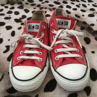 Converse CT low Red SKU #9696