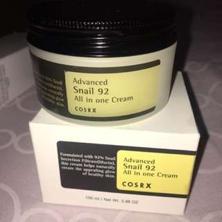 Cosrx snail 92 all in one cream