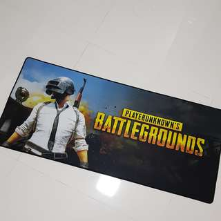 Gaming/keyboard mousepad (BATTLEGROUNDS)