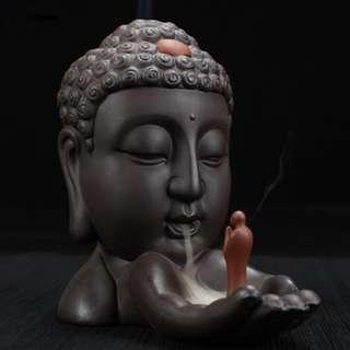 Ceramic Buddha Aromatherapy Burner