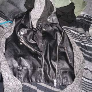 Forever 21 leather jacket