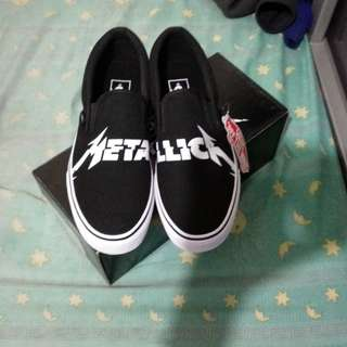 Slip On Vans X Metallica