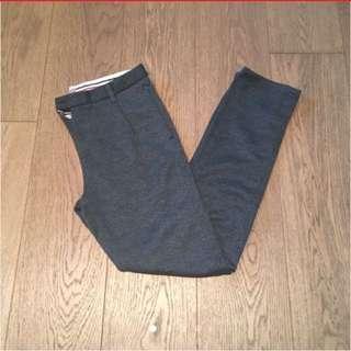 Zara dark grey pants trousers