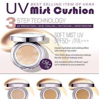 AUTHENTIC Hera UV Mist Cushion Refill - C21