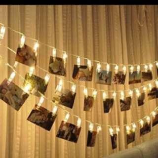 Peg clip Fairy Lights