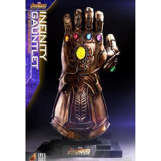 PO: Hot Toys – LMS006 – Avengers: Infinity War - Life Size Infinity Gauntlet