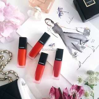 Chanel rouge allure ink lip gloss Lipstick #146 SEDUISANT