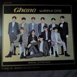 Ghana x Wanna One Chocolate Set