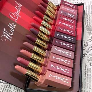 Special Offer MAC Matte Lilstick 12pcs