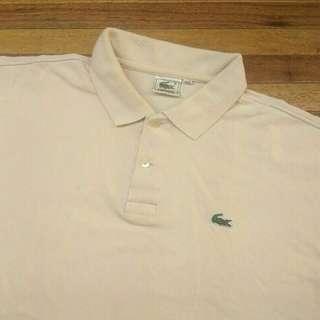 LACOSTE Krem Polo Shirt