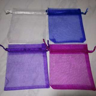10 for $3 11 x 9.5 cm organza bag