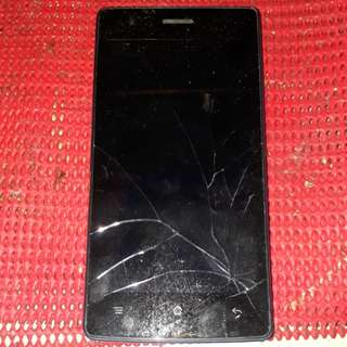 OPPO HANDPHONE SPOIL.FOR SALE LCD CRACK AND CANT OPEN