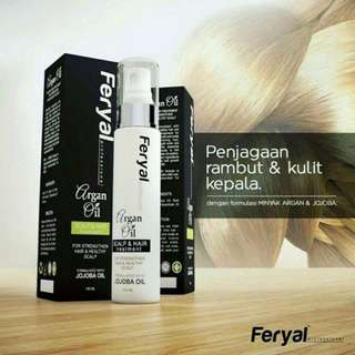 Feryal Argan Oil Scalp & Hair Treatment - 100ml