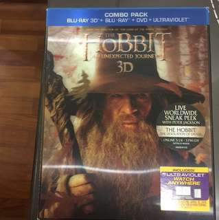Blu Ray Movies - the hobbit an unexpected journey 3D