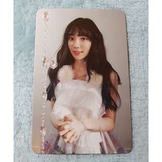 [WTB] Taeyeon This Christmas Official Photocard