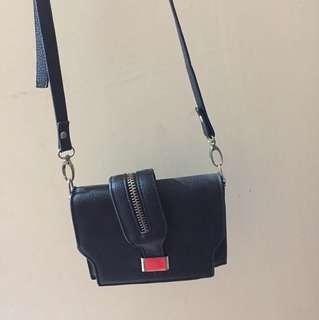 Zipper Sling Bag
