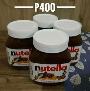 FOR SALE NUTELLA