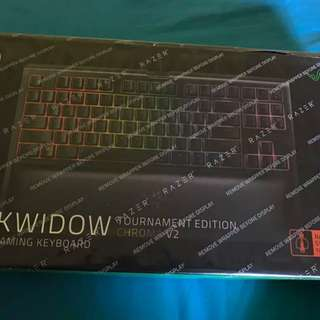 BNIB Razer Blackwidow Chroma v2 Tournament Edition SEALED