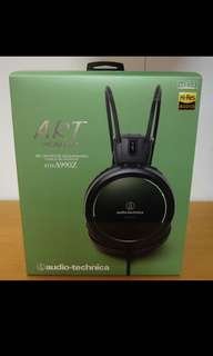 BNIB Sealed Audio Technica ATH-A990Z Art Monitor®  - Made in Japan Headphone