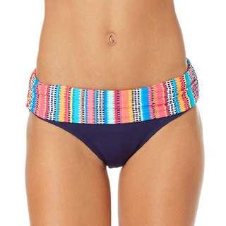 New Anne Cole Foldover Midrise Bikini Bottoms