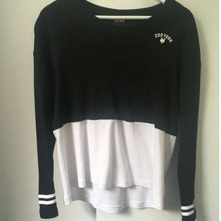 Zoo York jumper, hardly worn