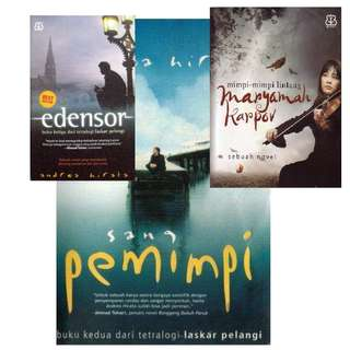 Tiga Novel Sang Pemimpi-Edensor- Maryamah Karpov Novel Digital